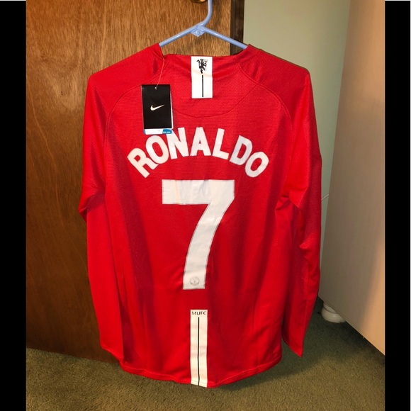 4c4c2089c0a NWT C Ronaldo MUFC 07 08 Soccer Jersey Medium